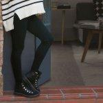 Calzas leggings embarazo mamá modal viscosa y spandex con cintura rebatible