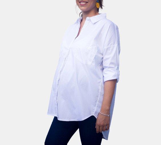 Camisa Clásica Oversize para el embarazo y la lactancia